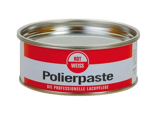 Die ROT WEISS Polierpaste bietet Abhilfe gegen Spritznebel und Oberflächenkratzer! Sie ist für ältere und blinde Lacke geeignet.