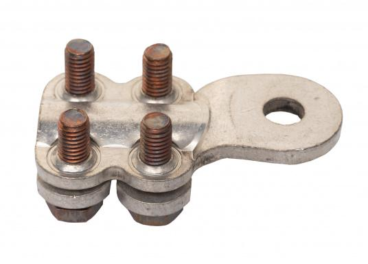 These cable lugs with srews are available in various sizes.   (Image 2 of 14)