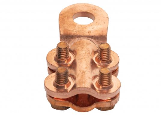 These cable lugs with srews are available in various sizes.   (Image 7 of 14)