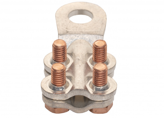 These cable lugs with srews are available in various sizes.   (Image 10 of 14)