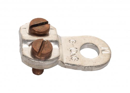 These cable lugs with srews are available in various sizes.   (Image 13 of 14)