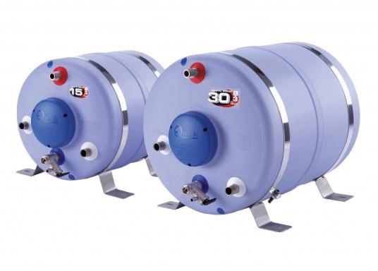 Diese Boiler haben einen Tank aus hochwertigem Stahl und sind mit einer starken Schaumisolierung und einer robusten Kunststoffummantelung ausgestattet. Lieferbar in verschiedenen Volumengrößen.
