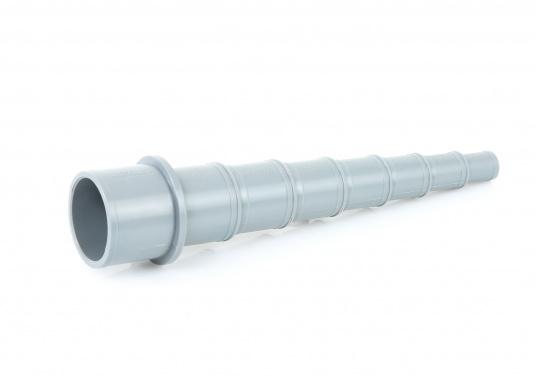 Universal Schlauchverbinder / Reduzierstück aus stabilem Kunststoff gefertigt. Lieferbar in zwei Größen. Für Schläuche 13 - 38 mm oder 32 - 59 mm.  (Bild 2 von 3)
