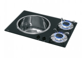 Gas Stove Top and Sink