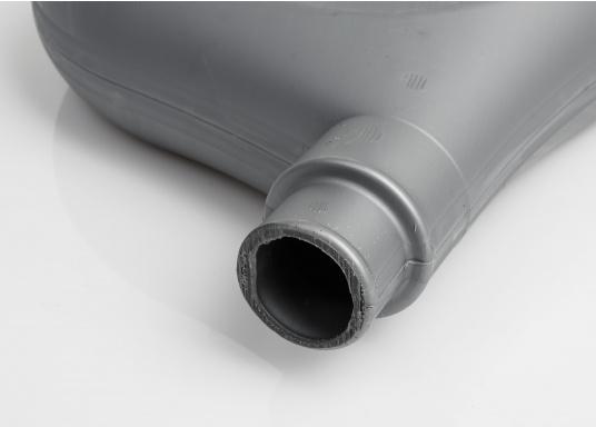 Verhindert das Auslaufen von Schaum und Treibstoff während des Tankens. 2 Gummiabdichtungen im Lieferumfang enthalten, vorhandene Anschlüsse fürØ 38 / 50 mm. (Bild 4 von 4)