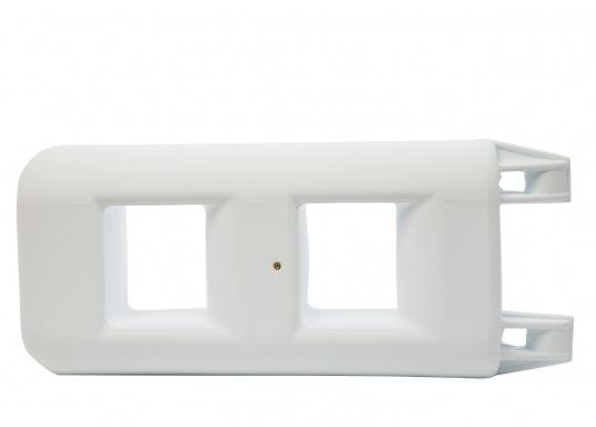 Clevere Kombinations-Lösung für den Hafen! Die Fenderleiter schützt die Bordwand und erleichtert den Einstieg in Ihr Boot, besonders geeignet bei hochbordigen Yachten. (Bild 2 von 2)