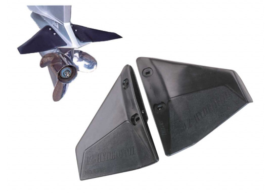 These wings were designed to increase engine performance. They are mounted directly above the propeller. The wings reduce fuel consumption and increase stability. Available in two sizes. (Afbeelding 4 of 4)
