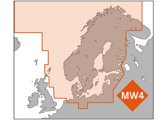 C-MAP North and Baltic Sea MW4 por solo 289,95 € buy now | SVB Yacht ...