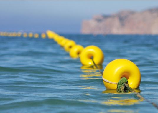 Praktischer, kleiner Schwimmkörper. Farbe: gelb.  (Bild 4 von 4)
