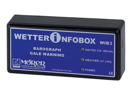 Seewetter-NAVTEX-Barograph für den PC (USB). Aktuelle Wetterinformationen und NAVTEX von den Küstenfunkstellen, Seewetterberichte für die nächsten 24 Stunden sowie 2-5 Tagesvorhersagen (in Deutsch).