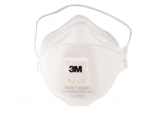 Hochwertige Atemschutzmaske, erfülltdie besonderen Anforderungen der Staubeinlagerungsprüfung (clogging) für FFP2 Masken. Die Atemschutzmaske bietet ausgezeichneten Tragekomfort und hohe Sicherheit.  (Bild 2 von 7)