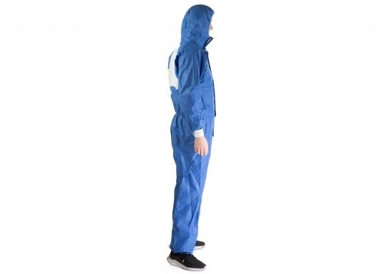 Lightweight, extremely breathable and comfortable protective overall for various jobs, such as surface treatment, handling chemicals, industrial cleaning and maintenance, as well as fitting insulation materials.