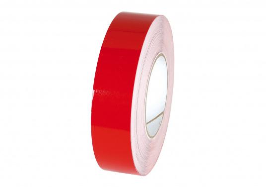 Die Zierstreifen in den Farben Rot, Blau und Weiß sind vielseitig verwendbar. Sie bestehen aus extrem dünnem, hochflexiblem Vinylband. Kein Kantenabwurf beim Abdecken enger Kurven.  (Bild 2 von 3)