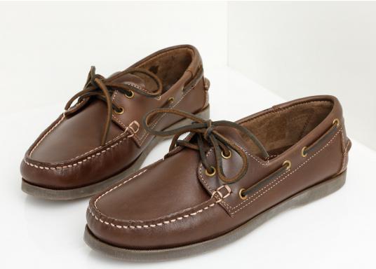Attraktiver Schuh mit 2 Loch Schnürung zu einem Spitzenpreis! Dieser zeitlos schöne und bequeme Damen- und Herrenschuh ist für an Bord und in der Freizeit geeignet.  (Bild 8 von 14)