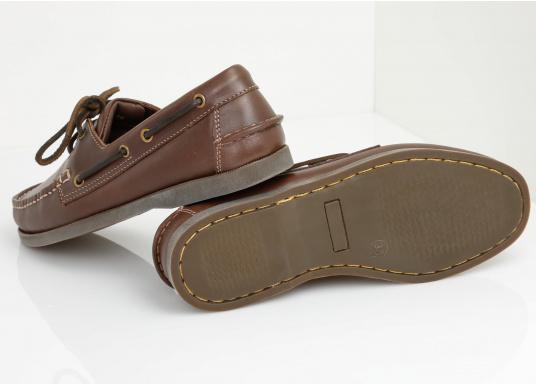 Attraktiver Schuh mit 2 Loch Schnürung zu einem Spitzenpreis! Dieser zeitlos schöne und bequeme Damen- und Herrenschuh ist für an Bord und in der Freizeit geeignet.  (Bild 3 von 14)