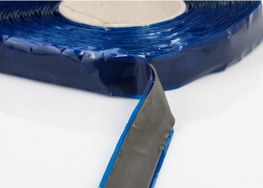 Plastisches Abdichtband auf Basis eines hochwertigen Kunstkautschuk, wenig klebrig und ideal zum Abdichten von Fenstern, Luken, verschraubten Aufbauten und vielem mehr. Lieferbar in zwei Längen.  (Bild 4 von 4)