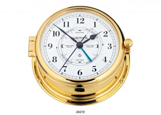 Aufwendig verarbeitete Glasen-Uhrenserie, hergestellt aus Messing massiv, poliert und lackiert. (Bild 2 von 5)