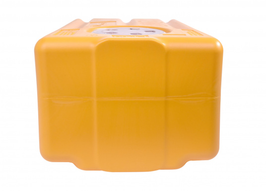 Dickwandige, geruchsfeste Tanks für den vertikalen Einbau über der Wasserlinie. Ein Absaugrohr, Borddruchführungen und eine Gurtband-Halterung sind separat erhältlich. Der Tank ist lieferbar in verschiedenen Größen.  (Bild 9 von 11)
