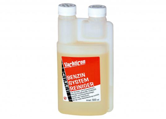 Highly concentrated cleaning additives for cleaning valves, carburettors and fuel injectors. Available for normaland super petrol.