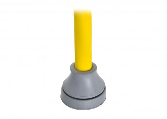 Blitzschnelle Montage für eine staub- und wasserdichte Kabel- und Rohreinführung. Diese Kabeldurchführungen sind gut geeignet für die Verwendung bei Bohrungen ohne Gewinde bei Wandstärken von 0,5 - 4 mm. Erhältlich in verschiedenen Größen. (Bild 3 von 7)