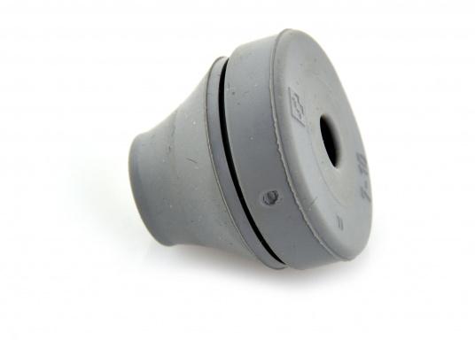 Blitzschnelle Montage für eine staub- und wasserdichte Kabel- und Rohreinführung. Diese Kabeldurchführungen sind gut geeignet für die Verwendung bei Bohrungen ohne Gewinde bei Wandstärken von 0,5 - 4 mm. Erhältlich in verschiedenen Größen. (Bild 4 von 7)