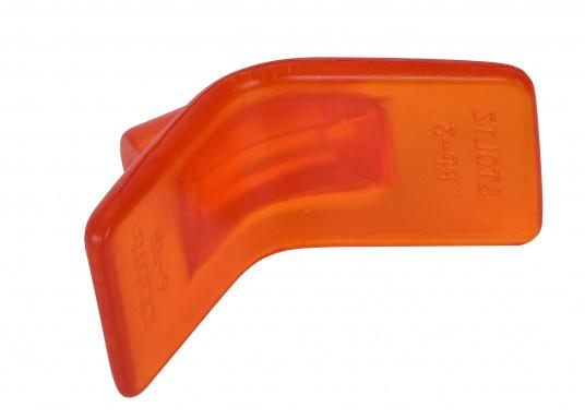 Original Stoltz Bugschutz, hergestellt aus abriebfestem Polyurethan. Für eine Aufnahme von 75 mm. Farbe: orange. (Bild 4 von 4)
