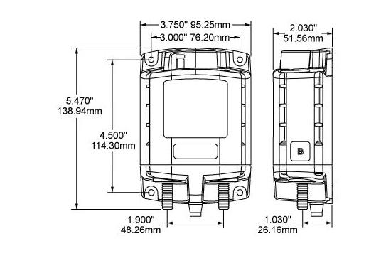 DieserHochleistungs-Batterieschalter erlaubt,Batterien unter hoher Stromlastvon Hand oder per Fernbedienung zu schalten.Über den LED-Ausgang können die Betriebszustände fernüberwacht werden.  (Bild 6 von 6)
