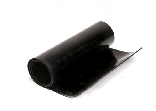 Gummidichtung SBR. Wasserbeständig.Nicht lebensmittelecht. Einsatz für Temperaturen bis +85°C. Rollenbreite: 1400 mm.  (Bild 2 von 2)
