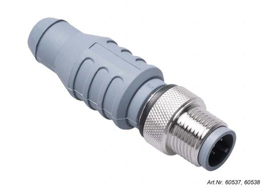 Original NMEA2000 geprüfte Kabel und Stecker. Die NMEA2000 Kabel und Stecker bilden ein zuverlässiges Rückgrat für jedes NMEA2000-System. Erhältlich in verschiedenen Ausführungen. (Bild 2 von 2)