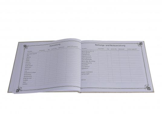 Eine ideale Geschenkidee!Dieses schöne Logbuch, in Segeltuch gebunden, macht die Pflicht zum Vergnügen und bietet Raum für die nautischen Einträge und persönlichen Notizen.Mit Tipps und Bonmots berühmter Segler. (Bild 6 von 9)
