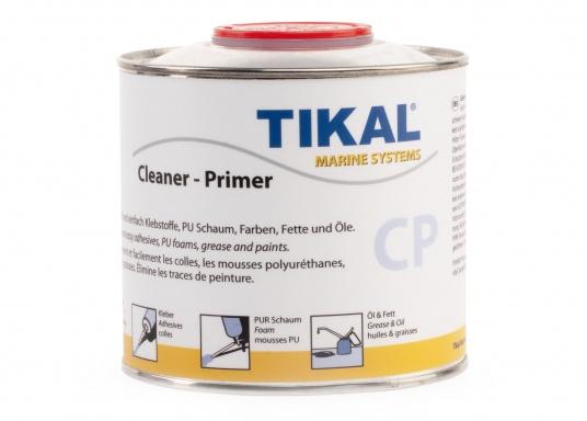 Entfernt mühelos Staub und Verunreinigung! TIKAFLEX cleaner C ist zum Reinigen von Flächen vor der Weiterverarbeitung geeignet und wirkt als Haftaktivierungvon geschlossenen Oberflächen wie 2-K Lack, eloxiertem Aluminium, Epoxy etc.