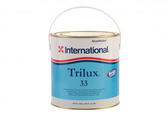 Semi-polishing antifouling for all hulls, including for aluminum boats. Also suitable for fast boats and dry marinas.TRILUX 33 prevents growth for up to 18 month.