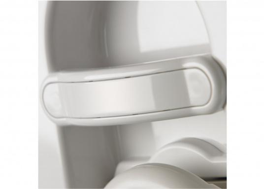 Aussi confortables qu'àla maison ! Ces toilettes apportent tout le confort dans les espaces restreints. Réservoir à matières9,8litres  (Image 5 de 6)