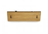Bamboo Coat Rack / 2 hooks