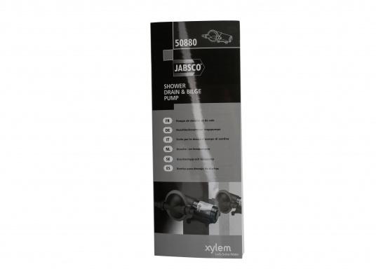 Powerful bilge pump. Flexible installation and compact design.Available as a12 volt(8 A) or24 volt(2.5 A) version.  (Imagen 5 de 9)