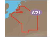 Belgien Binnenland und Fluss Rhein W21
