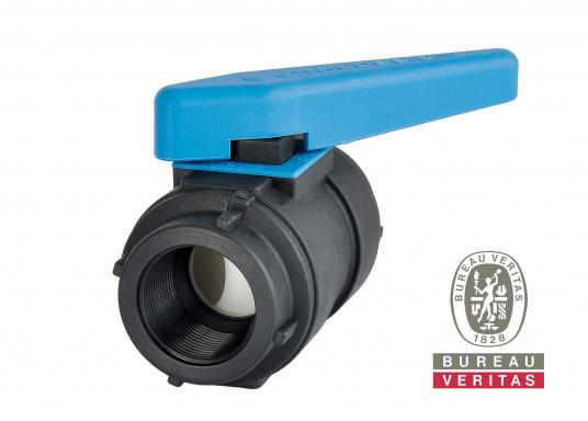 Smooth operation, even after years of use! These ball valves are suitable for use above and below the water line. Available in different sizes.