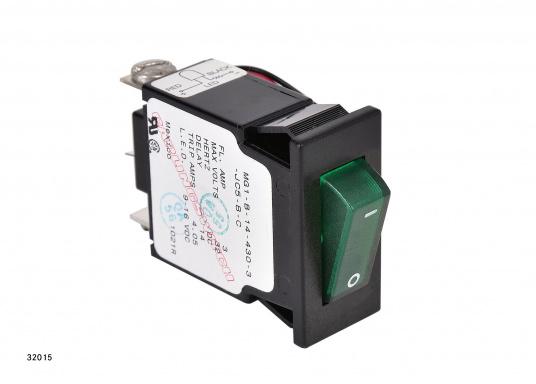 Ces disjoncteurs hydro-magnétiques CARLING SWITCH de la gamme M sont équipés d'un témoin lumineux LED. Ils peuvent être utilisé comme interrupteurs. Plusieurs modèles disponibles (Image 8 de 9)