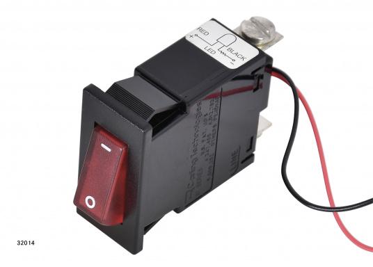 Ces disjoncteurs hydro-magnétiques CARLING SWITCH de la gamme M sont équipés d'un témoin lumineux LED. Ils peuvent être utilisé comme interrupteurs. Plusieurs modèles disponibles