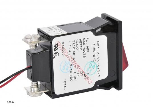 Ces disjoncteurs hydro-magnétiques CARLING SWITCH de la gamme M sont équipés d'un témoin lumineux LED. Ils peuvent être utilisé comme interrupteurs. Plusieurs modèles disponibles (Image 5 de 9)