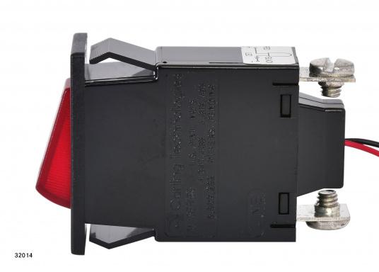 Ces disjoncteurs hydro-magnétiques CARLING SWITCH de la gamme M sont équipés d'un témoin lumineux LED. Ils peuvent être utilisé comme interrupteurs. Plusieurs modèles disponibles (Image 4 de 9)