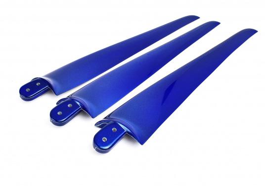 Pièces détachées d'origine pour éoliennes : pales, embouts, cache-moyeux, le tout dans différentes couleurs