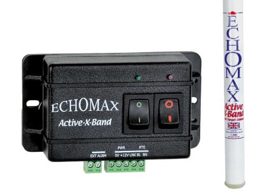 Le réflecteur radar actif ECHOMAX ACTIVE X accroit les chances d'être repéré et d'éviter les riques de collision. Il reçoit les signaux des radars, qu'il réémet en les amplifiant.