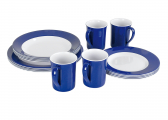 Afbeelding van Melamine Dishes Set DINNER
