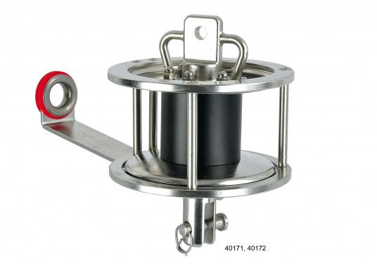 Bewährte und ausgereifte Fockroller und Toppwirbel von TOP-REFF. Hergestellt aus Edelstahl mit elektrolytisch polierten Oberflächen. Leichtgängige Bedienung und Funktion durch Axial- und Radialkugellager. (Bild 2 von 3)
