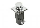 Press Snapper  Push-Lock / chrome, square