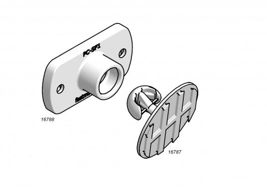 Vielfach prämiertes System für die Montage von Paneelen für Yacht und Caravan! Die Clips sind in verschiedenen Ausführungen erhältlich und können bei bezogenen, sowie lackierten Panelen eingesetzt werden.  (Bild 9 von 13)