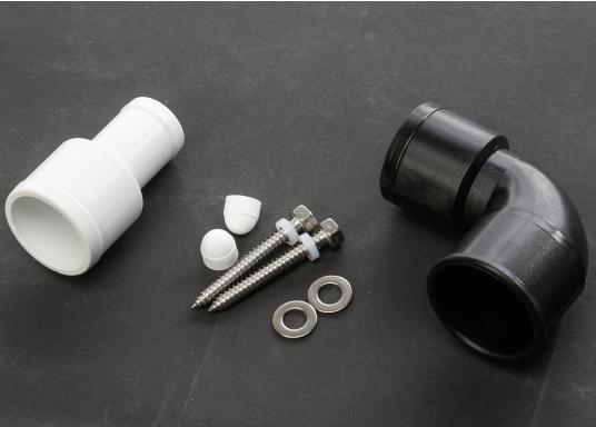 Luxus-Design einer Haustoilette  Kompaktes Maß wie ein Bord-WC  Leiser Betrieb und wassersparsam  Kombipumpe (Spülung / Zerhacker)    (Bild 6 von 8)