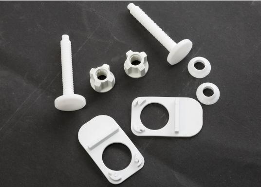 Luxus-Design einer Haustoilette  Kompaktes Maß wie ein Bord-WC  Leiser Betrieb und wassersparsam  Kombipumpe (Spülung / Zerhacker)    (Bild 7 von 8)