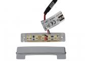 LED Stufenleuchte ARENDA, weiß / nach unten strahlend